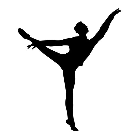 Ballet Dancer Sticker 6 - cartattz1.myshopify.com