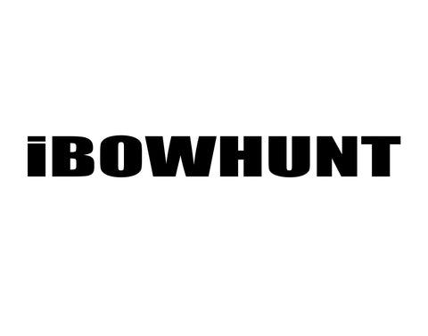 I BOW HUNT DECAL