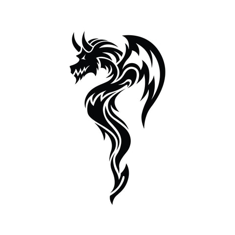 Dragon Sticker 11 - cartattz1.myshopify.com