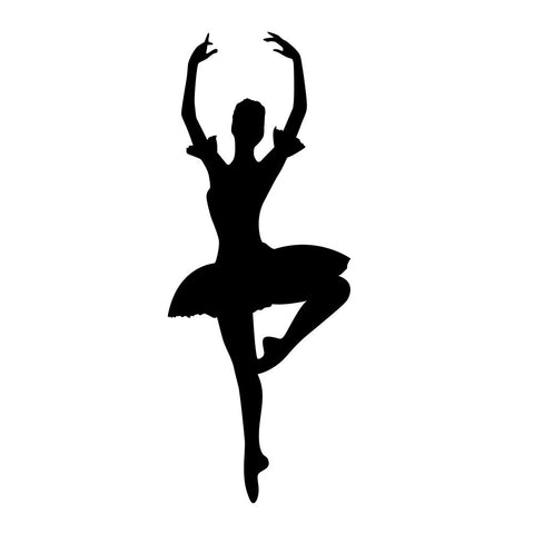 Ballet Dancer Sticker 7 - cartattz1.myshopify.com