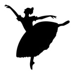 Ballet Dancer Sticker 8 - cartattz1.myshopify.com