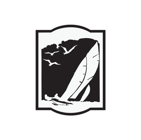 Wind Surfer Sticker 1