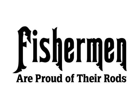 Fisherman Sticker - cartattz1.myshopify.com