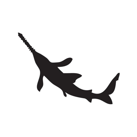 Shark Sticker 13 - cartattz1.myshopify.com