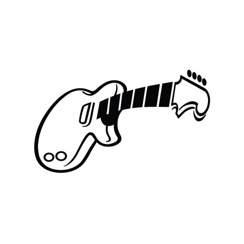 Guitar Sticker 1 - cartattz1.myshopify.com