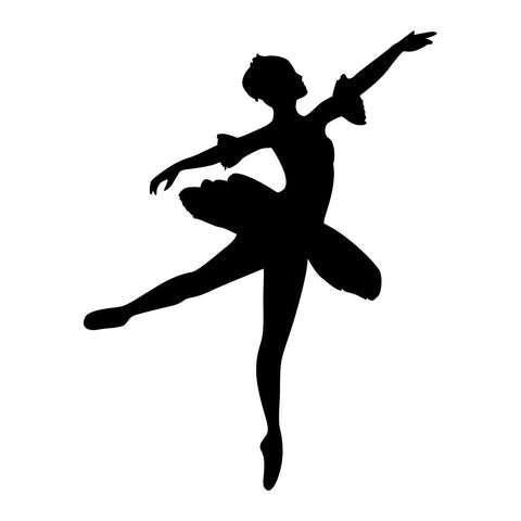 Ballet Dancer Sticker 10 - cartattz1.myshopify.com