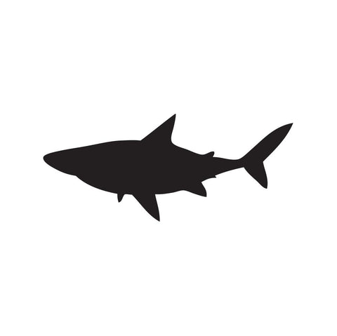 Shark Sticker 14 - cartattz1.myshopify.com