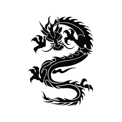 Dragon Sticker 15 - cartattz1.myshopify.com