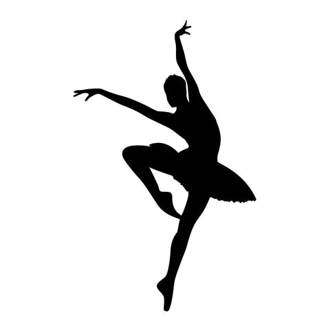 Ballet Dancer Sticker 11 - cartattz1.myshopify.com