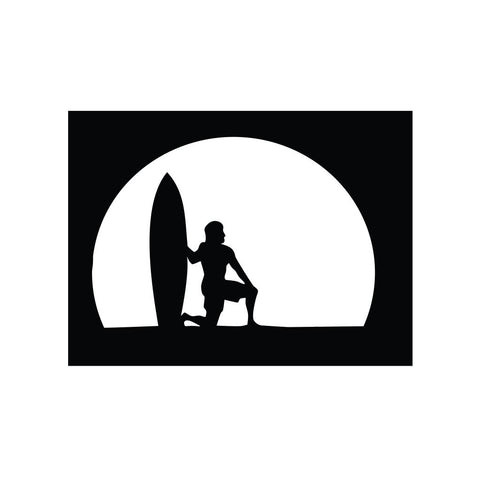 Surfer Sticker 3