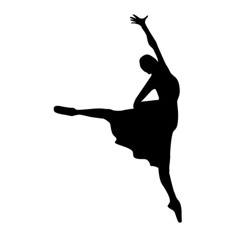 Ballet Dancer Sticker 12 - cartattz1.myshopify.com