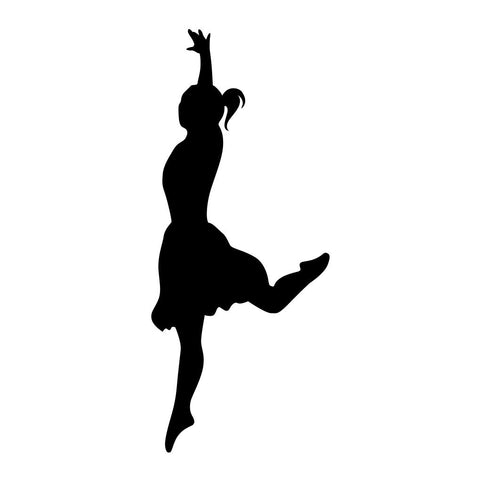Ballet Dancer Sticker 13 - cartattz1.myshopify.com