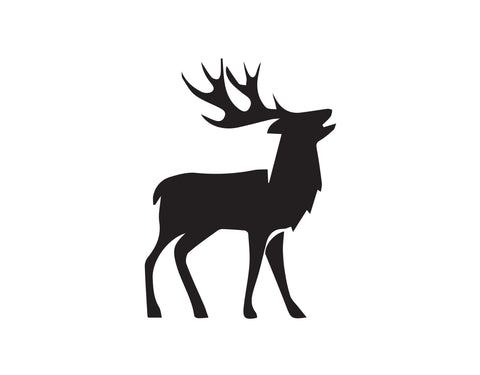 DEER LOOKING DECAL