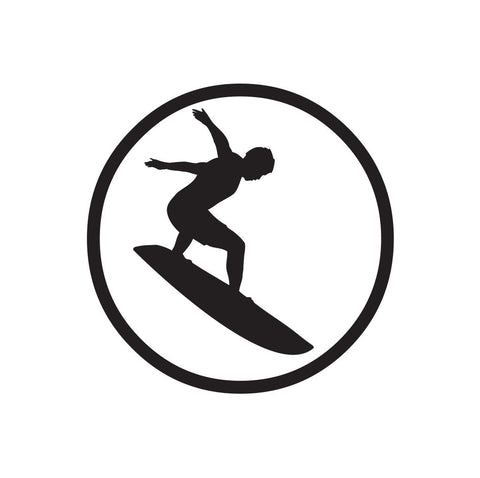 Surfer Sticker 5