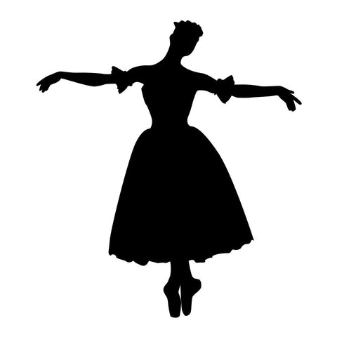 Ballet Dancer Sticker 14 - cartattz1.myshopify.com
