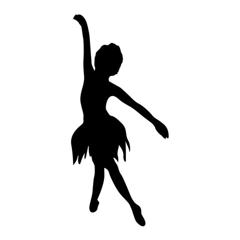 Ballet Dancer Sticker 15 - cartattz1.myshopify.com