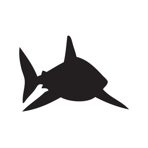 Shark Sticker 19 - cartattz1.myshopify.com