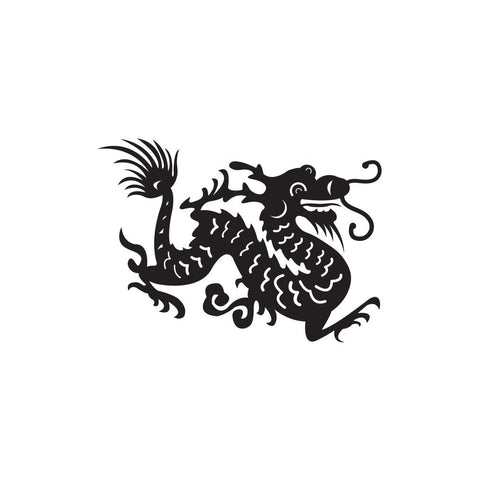 Dragon Sticker 1 - cartattz1.myshopify.com