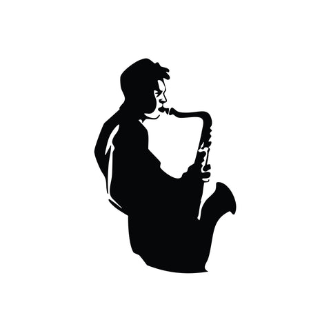 Saxphone Music Sticker 4 - cartattz1.myshopify.com