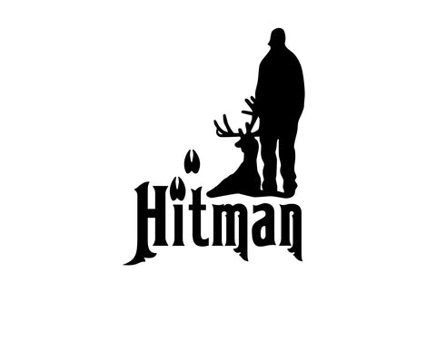Hitman hunting decal