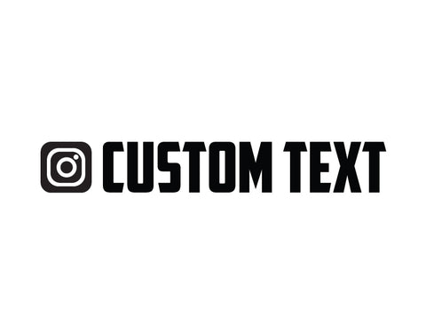 Instagram Sticker American Captian Font