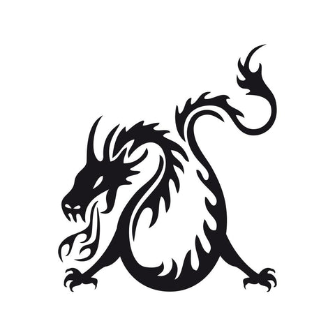 Dragon Sticker 20 - cartattz1.myshopify.com