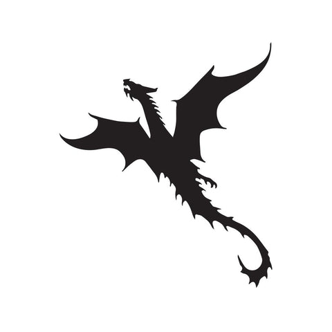 Dragon Sticker 21 - cartattz1.myshopify.com