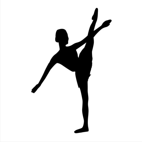 Ballet Dancer Sticker 17 - cartattz1.myshopify.com