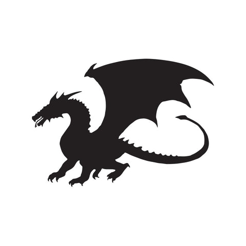 Dragon Sticker 22 - cartattz1.myshopify.com