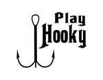 Play Hooky Sticker - cartattz1.myshopify.com
