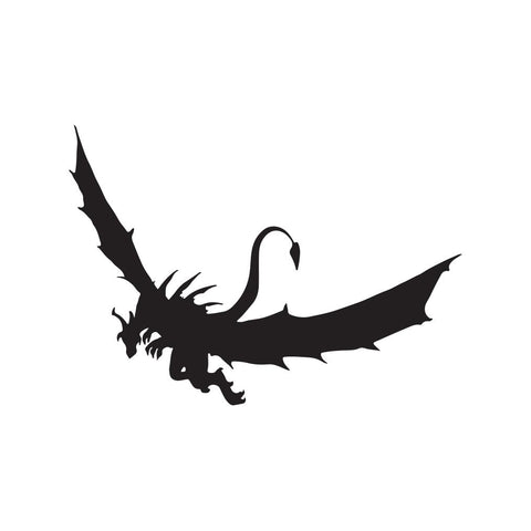 Dragon Sticker 24 - cartattz1.myshopify.com