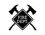 Fire Department Decal