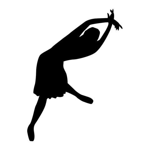 Ballet Dancer Sticker 21 - cartattz1.myshopify.com