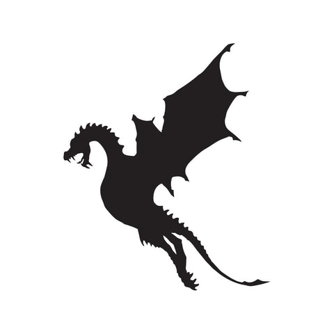 Dragon Sticker 25 - cartattz1.myshopify.com