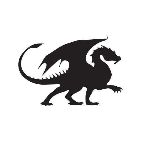 Dragon Sticker 26 - cartattz1.myshopify.com
