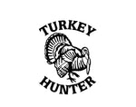 TURKEY HUNTER DECAL