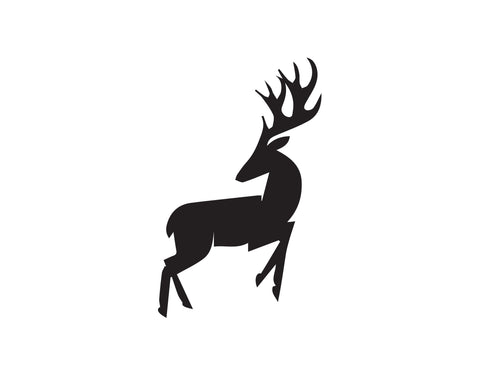 DEER LOOKING BACK DECAL - cartattz1.myshopify.com