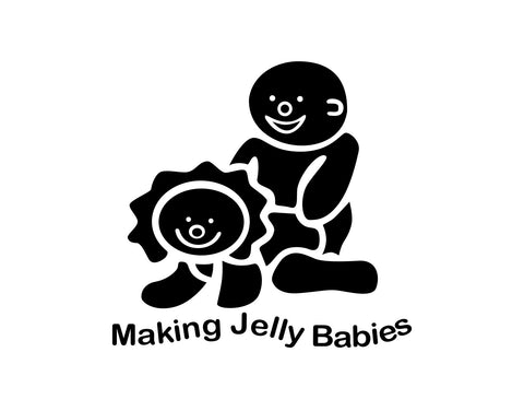 Jelly Babies Sticker - cartattz1.myshopify.com