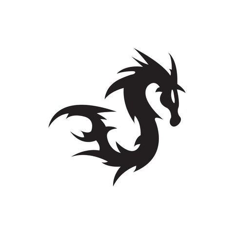 Dragon Sticker 2 - cartattz1.myshopify.com