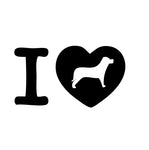 I Love Dogs Sticker - cartattz1.myshopify.com