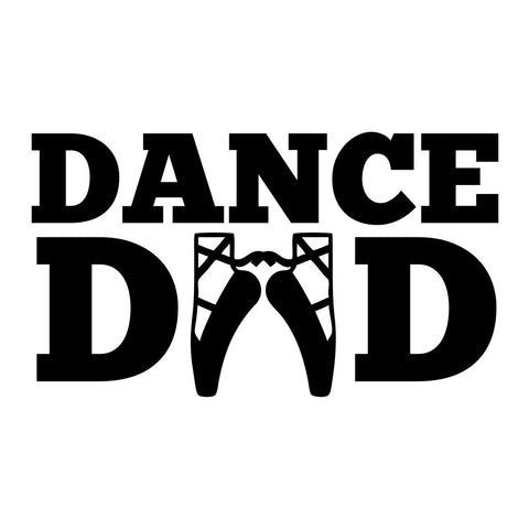 Dance Dad Sticker - cartattz1.myshopify.com