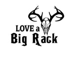 I LOVE A BIG RACK RACK DECAL - cartattz1.myshopify.com