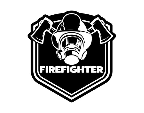 Firefighter Decal 3