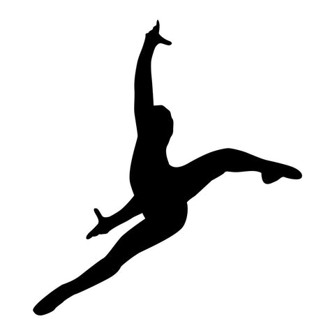 Ballet Dancer Sticker 28 - cartattz1.myshopify.com