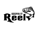 Keepin It Reel Sticker 1 - cartattz1.myshopify.com