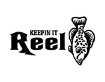 Keepin It Reel Sticker 2 - cartattz1.myshopify.com