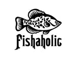 Fishaholic Sticker 2 - cartattz1.myshopify.com