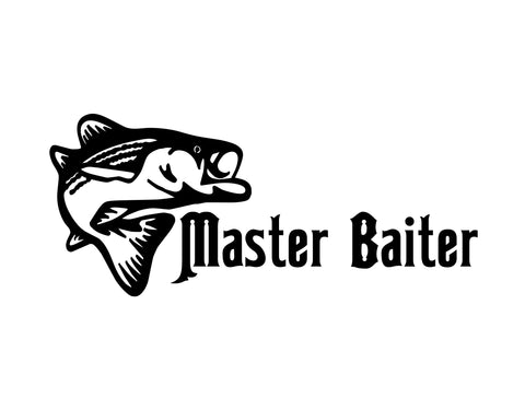 Master Baiter Sticker