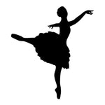 Ballet Dancer Sticker 22 - cartattz1.myshopify.com