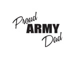 Proud Army Dad Sticker - cartattz1.myshopify.com